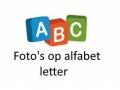 foto's op alfabet